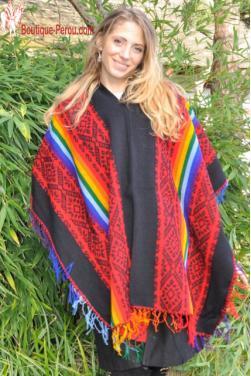 Authentique poncho Tawantinsuyo.