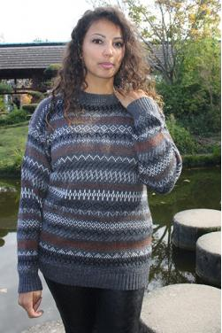 Pull péruvien grande taille Munay
